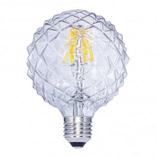 Bombilla LED Decorativa E27 Globo Clara (6W)