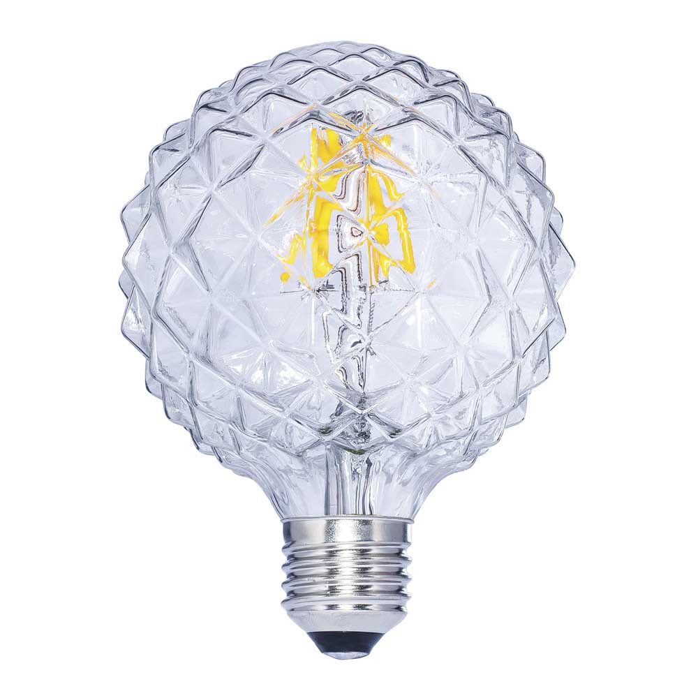 Decorative LED Bulb E27 Clear Globe (6W)