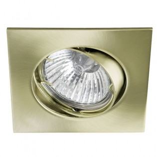 Kit Recessed light ECLO Old Gold (steerable)
