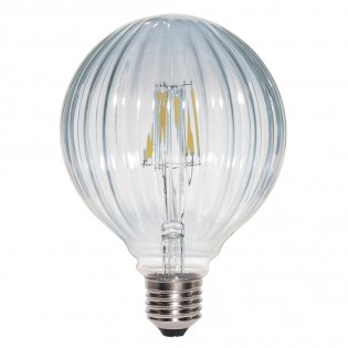 Bombilla LED Decorativa Globo Clara (6W)