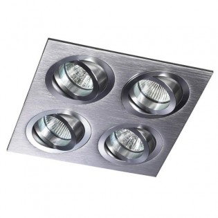 Kit Helium squared aluminum (4 lights)
