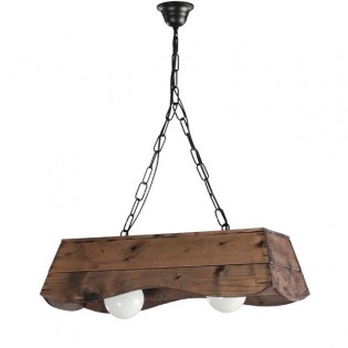 Rustic Lamp Bolin (2 lights)