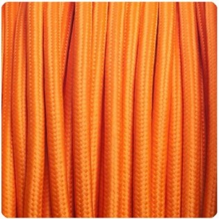 Cable textil orange