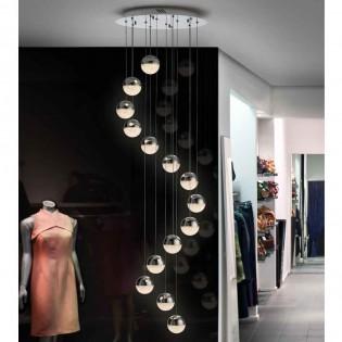 14 - lights Cluster LED Pendant lamp Sphere (50W)