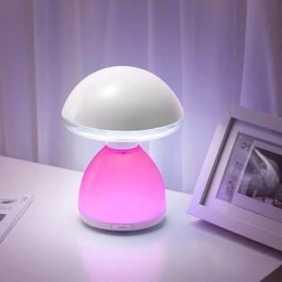 Table lamp LED RGB Mushroom