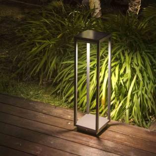 Saura outdoor LED bollard light with motion sensor (23W)