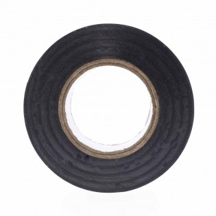 Black insulating tape