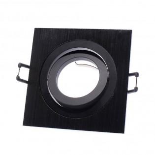 Downlight classic square black