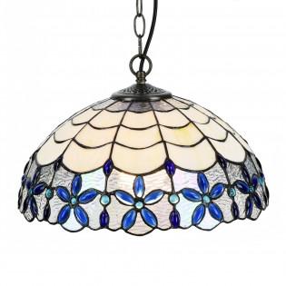 Lámpara colgante Azul