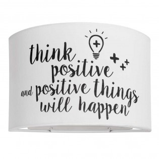 Aplique Think Positive