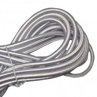 Cable textil silver