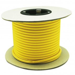 Cable roll textil YELLOW