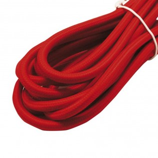 Cable roll textil red