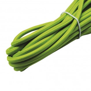 Cable roll textil green