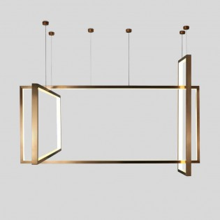 Pendant lamp Frame by Aromas del Campo. Design Lighting.