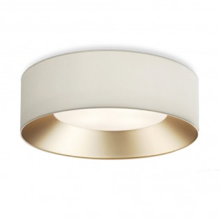 Modern flush light IN Gold