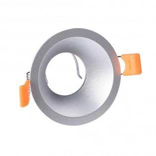 Recessed light Confort round silver