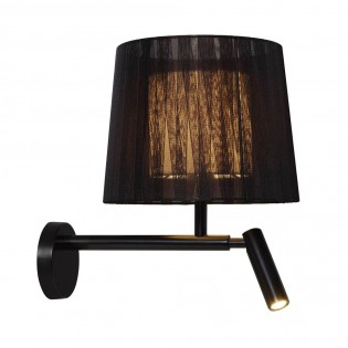 Wall light Indiana with LED reader