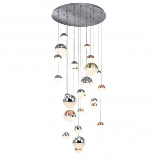 Ceiling light adjustable Sphere (27 lights)