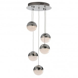 Pendant light LED Sphere (5 lights)