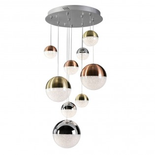 Ceiling light LED Sphere (9 lights)