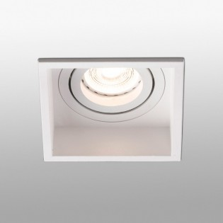Recessed light steerable Hyde (square)
