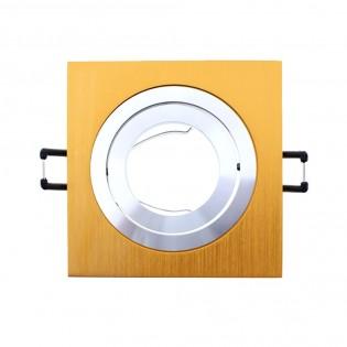 Recessed spotlight CLASSIC square copper. Wonderlamp