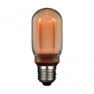 E27 LED Tube Decorative Filament Bulb (4W)