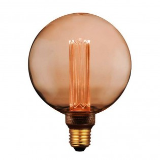 Decorative LED Bulb E27 Globe G125 (4W)