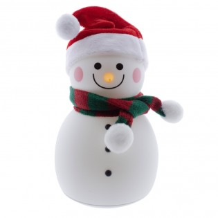 LED Snowman Decorative Portable Lamp