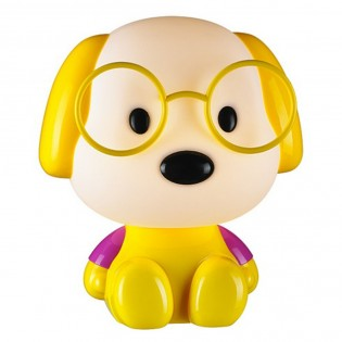 Children's Table Lamp Yellow Dog