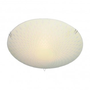 Glass Ceiling Flush Light Arenado