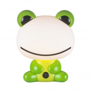 Children's Table Lamp Green Toad