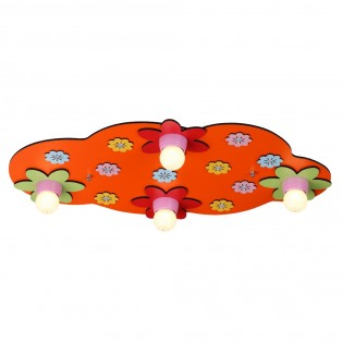 Children's Ceiling Flush Light Water Lily