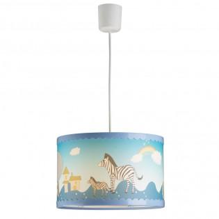 Hanging lamp for children Zebras