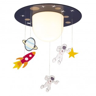 Ceiling light with pendants for children Astronauts