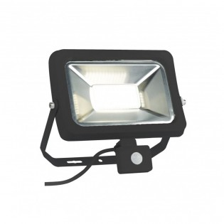 LED Flood light with motion sensor Masini (Black)