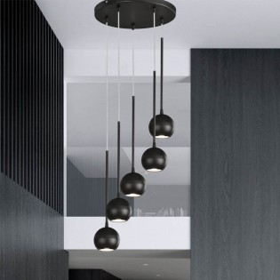 Pendant Light Esfera (5 lights)