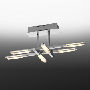 Semi Flush Ceiling Light LED Line (27W)