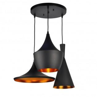 Decorative Pendant Light Crux (3 lights)