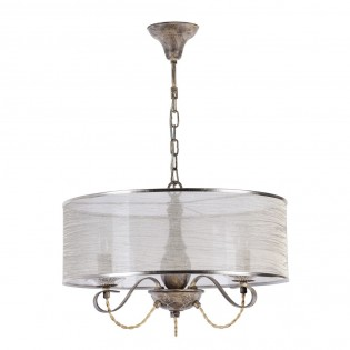 Crystal Chandelier with Shade Cable