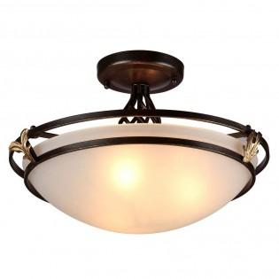Classic ceiling semi flush mount light Combinare