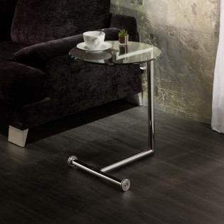 Side Table Rodes with wheels