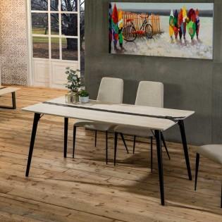 Dining Table Zig Zag (162x80)