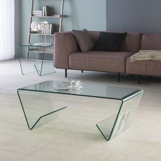Modern Coffee Table Glass III (110x55)