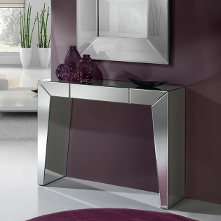 Console Artes lined in mirrors (110x36)