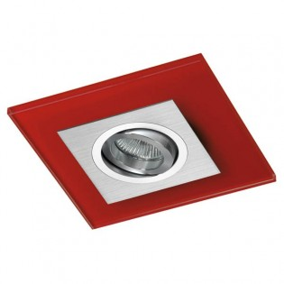 Kit Recessed light CLASS (aluminum + red)
