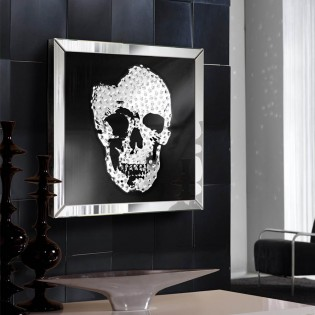 Mirror Picture Skull