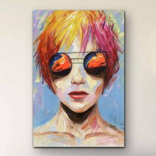 Acrylic Painting Janis
