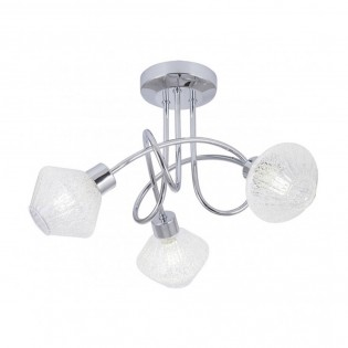 Ceiling Flush Light Ozadi II (3 lights)